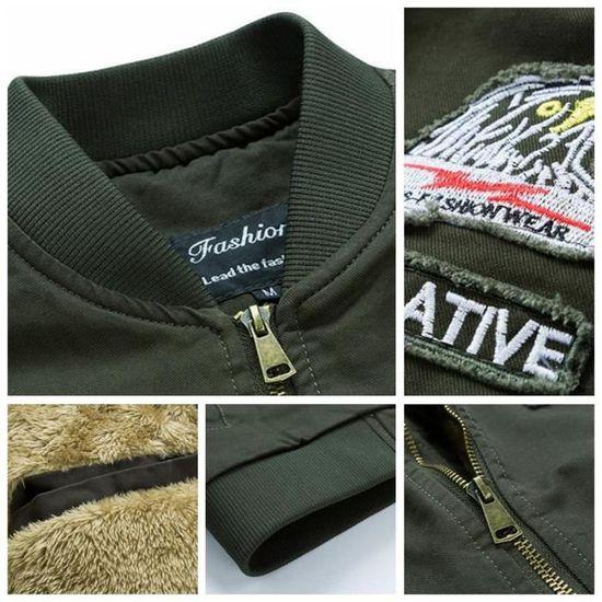 Veste Homme Air Loisirs Style Nouveau Slim Coton De Épaissir Plein rrpwCq