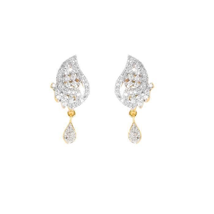 Femmes délicieux américain diamant plaqué or galsutra Set PourI00GM