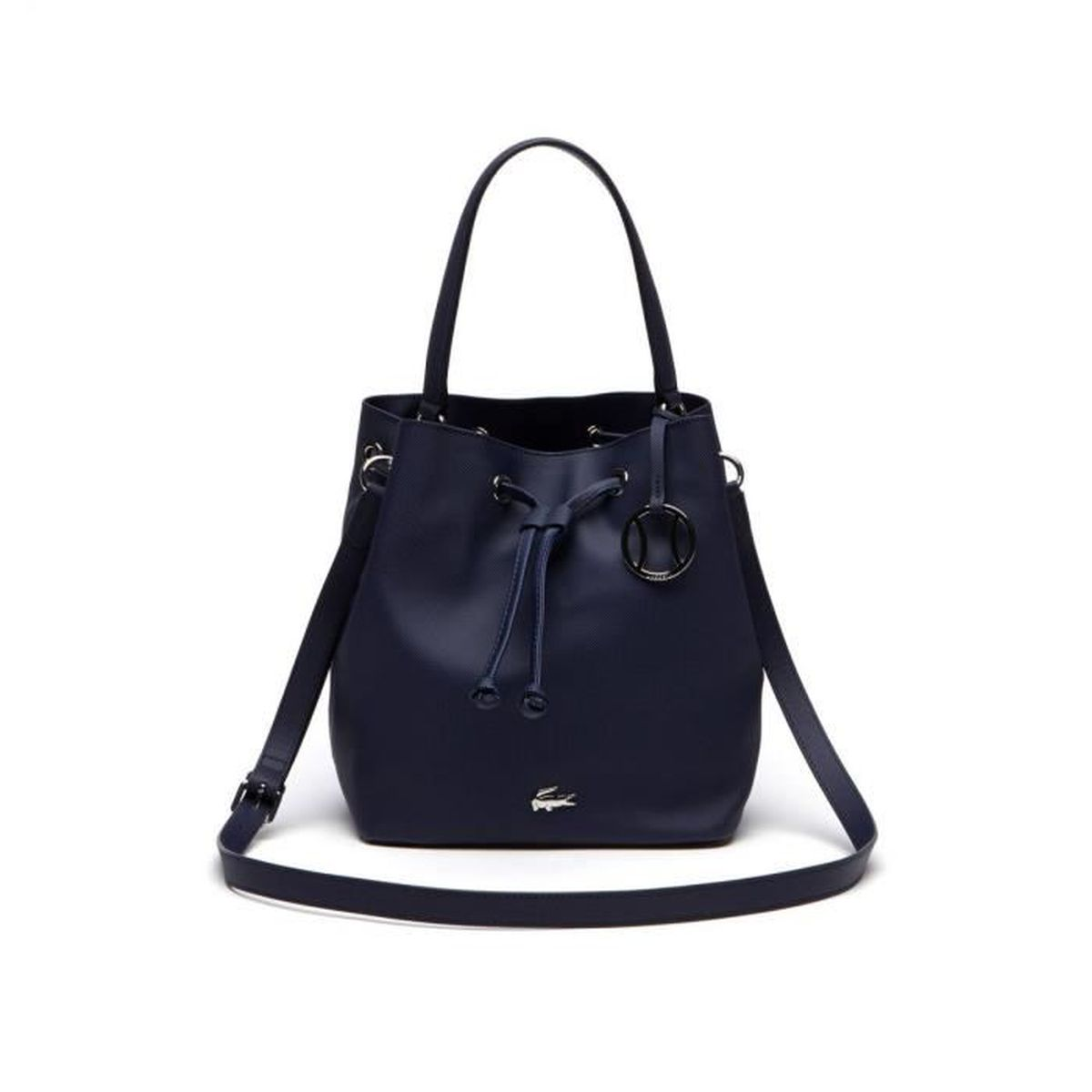 5cb3e963ec60 Lacoste - Sac sceau Daily Classic (NF1876DC) peacoat 021 taille 25.5 ...