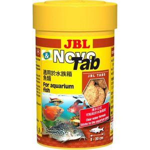 JBL 160 tablettes alimentaire Novotab - Pour poisson d'aquarium - 100ml