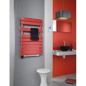 Radiateur electrique salle de bain seche serviettes avec - Puissance seche serviette salle de bain ...