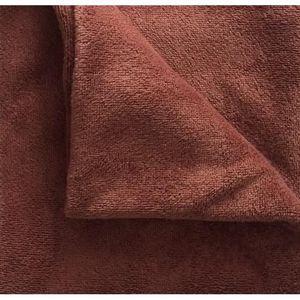 TABLE DE MASSAGE housses de table en tissu-éponge L Chocolat/café