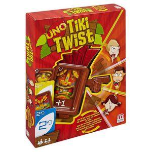 ACCESSOIRE MULTI-JEUX Mattel Games Uno Cgh09 Tiki Twist QWIOQ