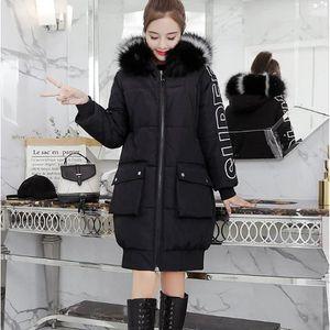 DOUDOUNE 2018 nouveau manteau Hiver Femme Doudoune fourrure