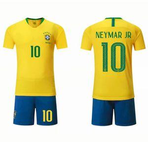 849bd944d8d3d MAILLOT DE FOOTBALL PSG Neymar Maillot et Shorts de Football Enfant/Ho ...