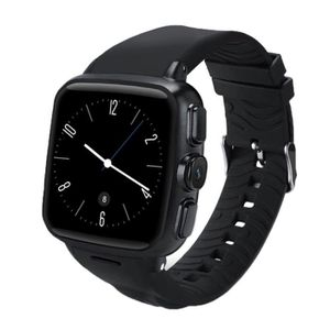 Téléphone portable Montre Connectée Noir Smartwatch Phone, 4 Go + 512