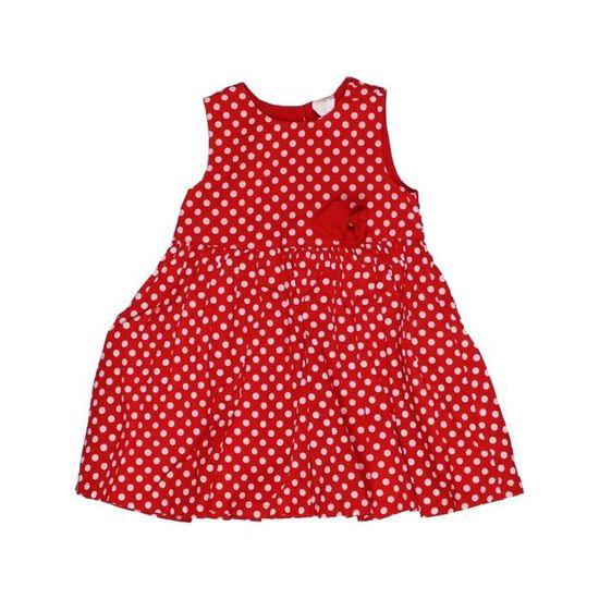 le dernier c3caa f8f62 Robe bébé fille H&M 12 mois rouge été #953683 - 207224218 ...