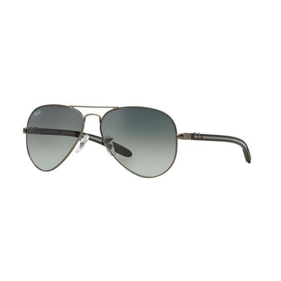 3f78d6977921b9 Lunettes de soleil Ray Ban Aviator Carbon Fibre RB8307 029-71 Taille  58 -  Achat   Vente lunettes de soleil - Cdiscount