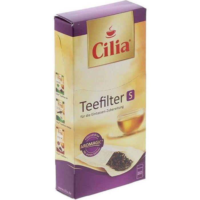 MELLITA Cilia 80 filtres à thé S
