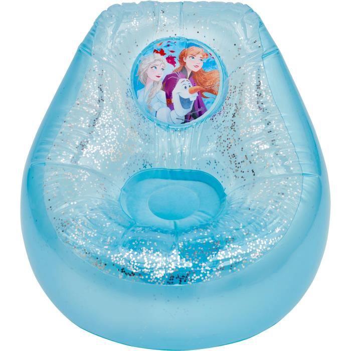 LA REINE DES NEIGES 2 - Fauteuil poire gonflable enfant - Bleu