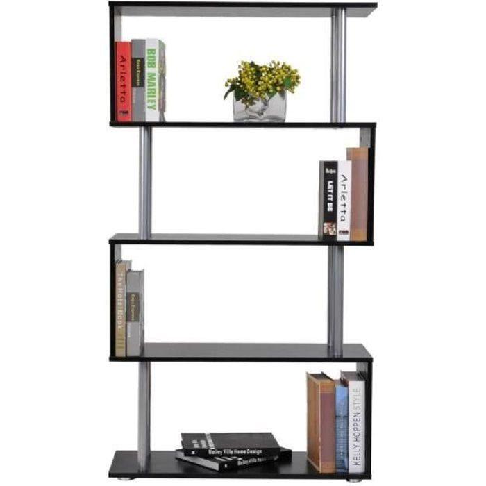 etagere armoire de rangement pour livres en panneaux de particules en forme de s 00 achat. Black Bedroom Furniture Sets. Home Design Ideas