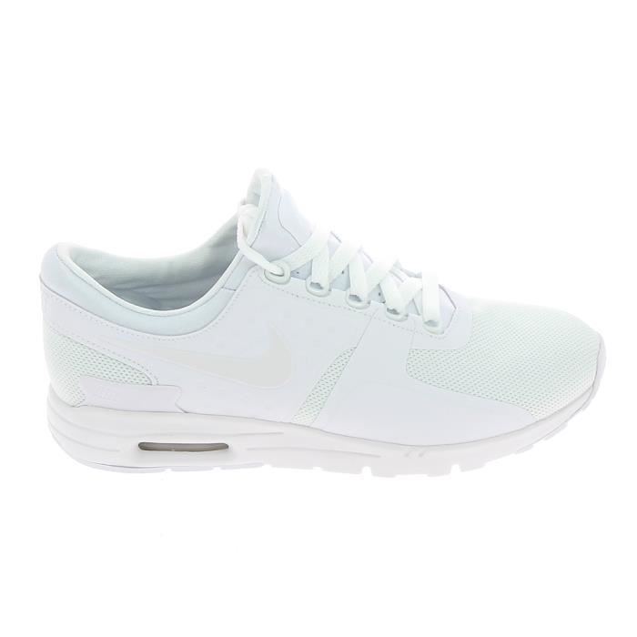outlet store 7015b 3020f Basket mode - Sneakers NIKE Air Max Zero Blanc 857661 107