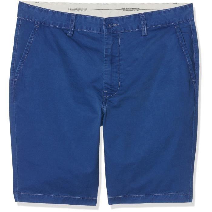 Short Achat Bleu 36 Lee Court Taille 1gtl1c Vente Chino nqwA18YAz