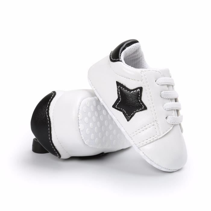 drapant Start Espadrille Semelle Enfant Bas noir Anti Chaussures Bb Souple Filles ge En Gar ons InX0q