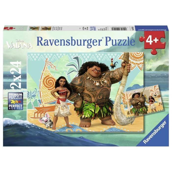 PUZZLE Ravensburger - Disney Pack de 2 Puzzles Vaiana et