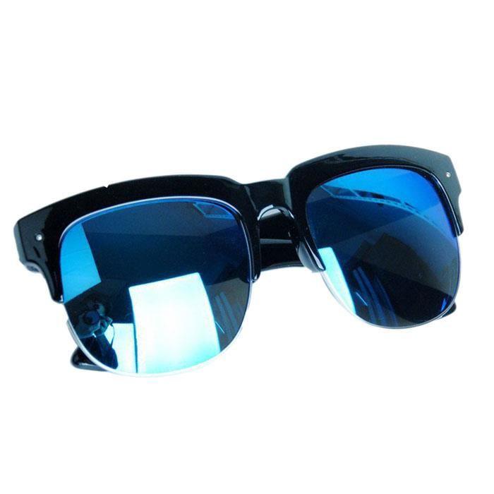 Grande boîte lunettes de soleil hommes cool reflets lumineux lunettes de soleil en plein air@yzw-22547