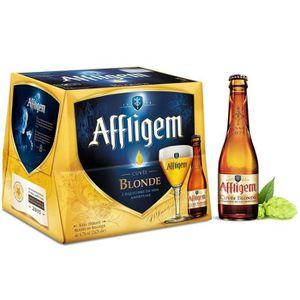BIÈRE AFFLIGEM Lot de 12 bouteilles de Bière - Blonde -