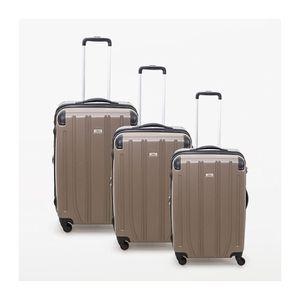 VALISE - BAGAGE Lot de 3 valises rigide 4 roues Horizon coffee Met