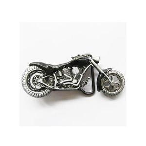 383c61764089 CEINTURE ET BOUCLE boucle de ceinture moto chopper noire homme femme