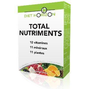 TONUS - VITALITÉ Diet Horizon - Total nutriments 30 comprimes (1…
