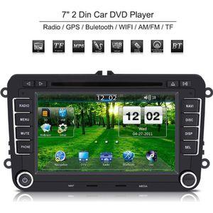 7 autoradio 2 din lecteur dvd de voiture cran tactile navigation gps bluetooth he vw07 1 pour. Black Bedroom Furniture Sets. Home Design Ideas