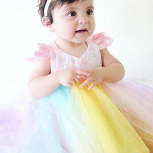 d7f820db101 ROBE 0-24 Mois Bébé Fille Body-robe à Paillette Rose Tu