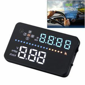 AFFICHAGE PARE-BRISE Affichage tête haute A3 3.5 pouces voiture GPS HUD