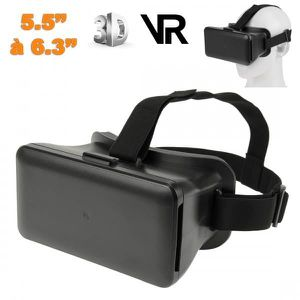 CASQUE RÉALITÉ VIRTUELLE Casque réalité virtuelle 3D universel smartphone 5