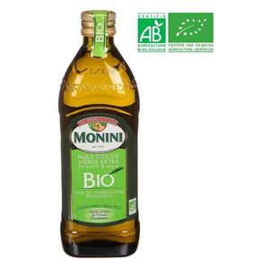 HUILE MONINI Huile d'olive - Vierge extra - Bio - 75cl