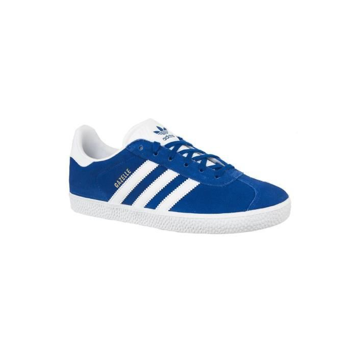 baskets mode adidas originals cq2915 gazelle c bleu