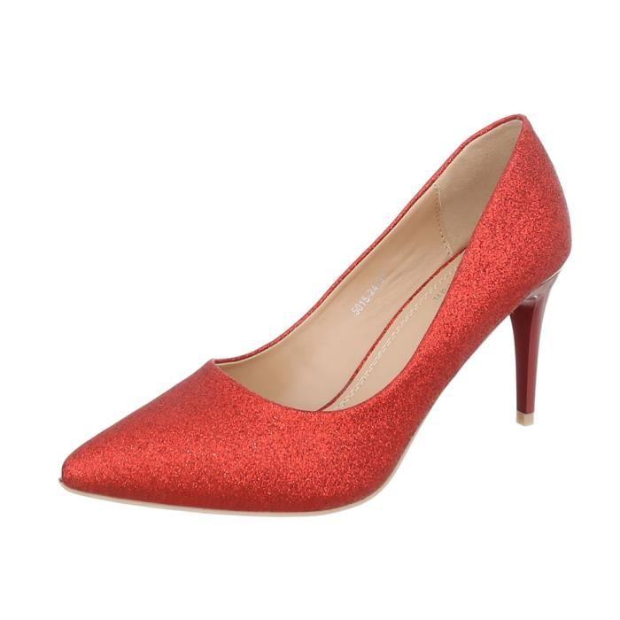 Aiguilles Chaussures Talons L'escarpin Rouge Femme 36 nwZq4gUYwx