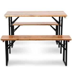 Table banc exterieur achat vente table banc exterieur for Table exterieur 50 cm