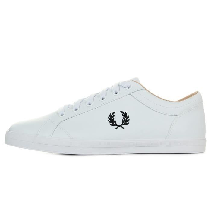 Perry Fred Baseline White Baskets Leather 7ZqpRwT