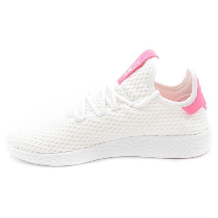 Adidas Pharrell Williams Basket Tennis BY8714 blanc-Rose T. 37 1-3 t45hZ5