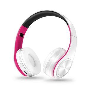 CASQUE - ÉCOUTEURS AIHONTAI® Bluetooth 4.0 casque stéréo Support de c