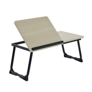 SUPPORT PC ET TABLETTE Aingoo Table d'Ordinateur pour Lit Support Ajustab
