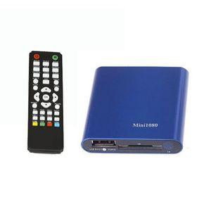 DISQUE DUR EXTERNE 1080P Mini lecteur multimédia HDD MKV - H.264 - RM