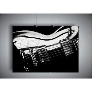 AFFICHE - POSTER Poster GUITARE LEGENDE Gibson Les Paul Wall Art -