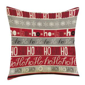 OREILLER Noël Impression de Noël Dyeing Canapé-lit Home Déc