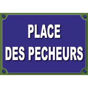 PANNEAU EXTÉRIEUR plaque de rue humoristique