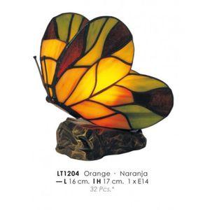 LAMPE A POSER Déco Lampe Tiffany de diamètre 16cm, hauteur 17cm