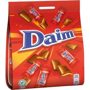CHOCOLAT EN TABLETTE DAIM Chocolat au lait fourré au caramel croquant -