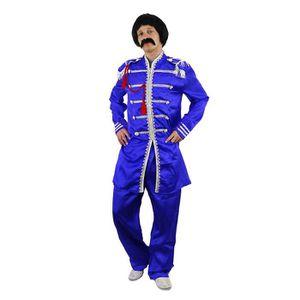 DÉGUISEMENT - PANOPLIE Costume bleu du plus célèbre groupe pop anglais de