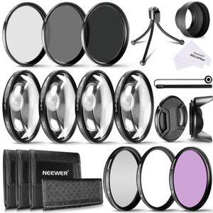 FILTRE PHOTO Neewer 58mm Close-up Filtres Macro (+1 +2 +4 +10)