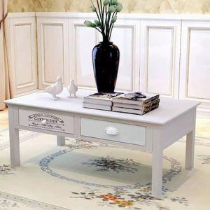 TABLE BASSE Magnifique Economique Table basse en style françai