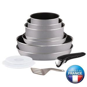 BATTERIE DE CUISINE TEFAL INGENIO ESSENTIAL Batterie de cuisine 11 piè