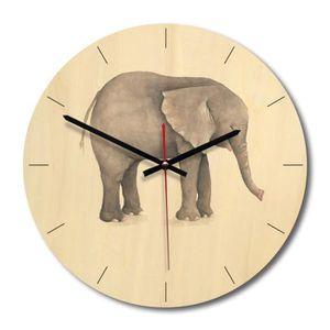 HORLOGE - PENDULE Horloge Murale Home Decor Silencieuse Horloge Mign