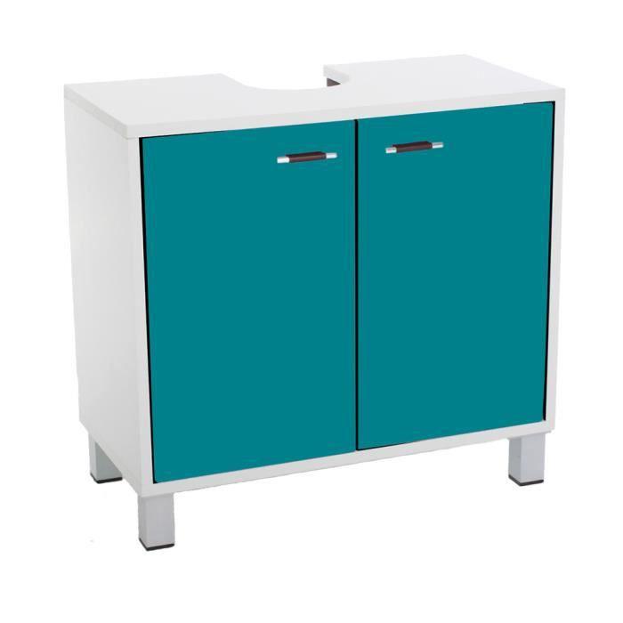 meuble dessous de lavabo turquoise achat vente meuble vasque plan meuble dessous de lavabo. Black Bedroom Furniture Sets. Home Design Ideas