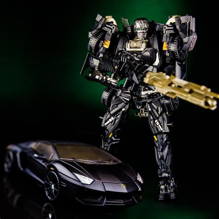 Modèle Robot Noir Transform Jouet Voiture Lamborghini wn0Ok8P