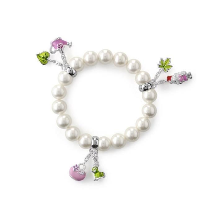 Heartbreaker - HB BL 77 - Bracelet Femme - Argent fin 925-1000 - Perle de synthése